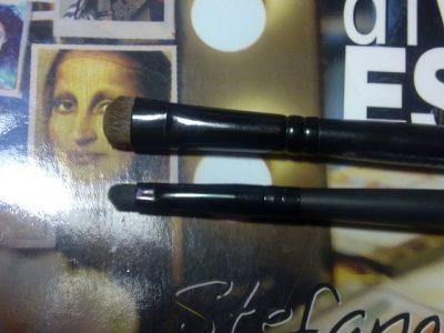 Smudge di Sephora n.14 e il Small Precision Smudge brush di Elf