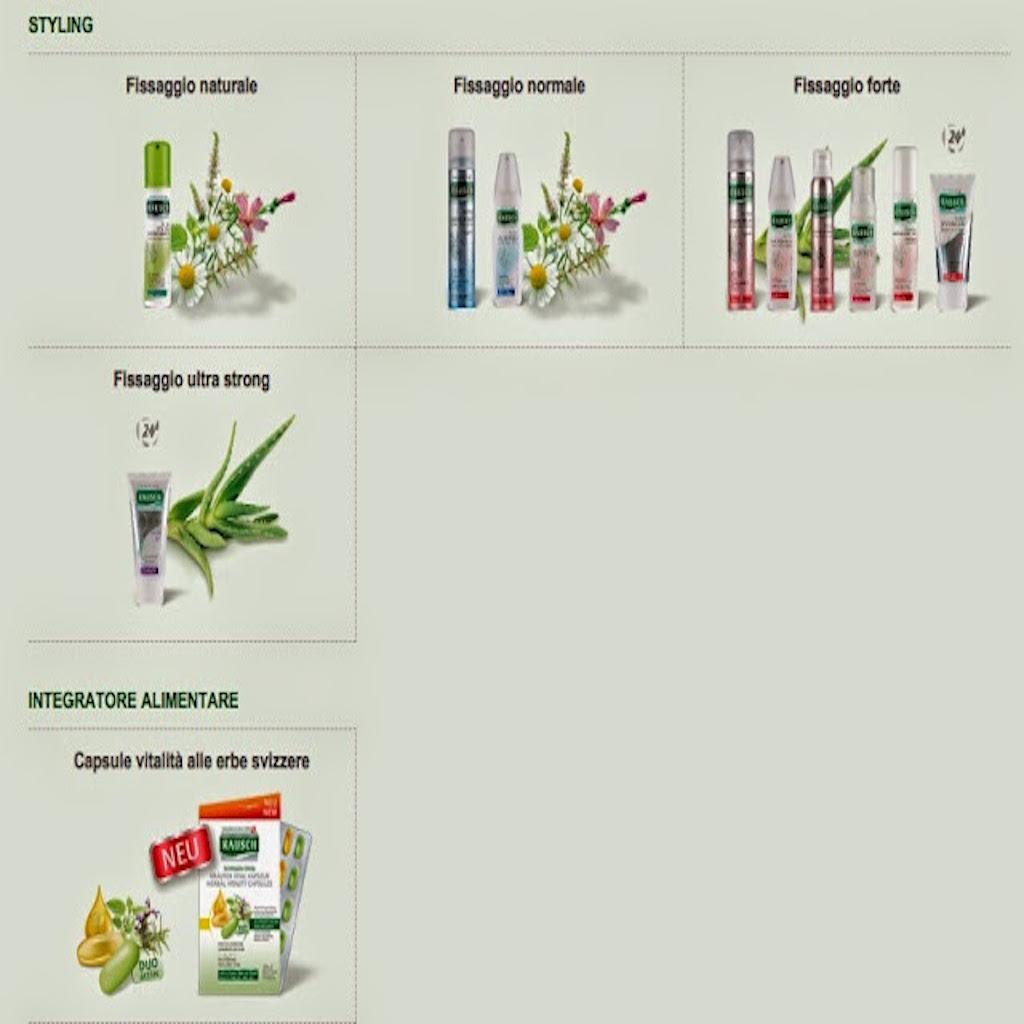 RAUSCH ha la soluzione con la sua intera gamma di prodotti