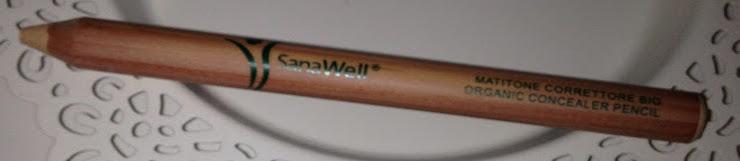 Set di matite Sanawell: matitone correttore bio beige/ rosa pesca