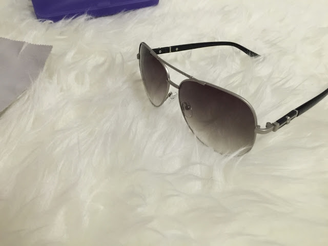Sunglasses Shop: Pierre Aviator silver