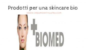 Prodotti per una skincare bio cosa scegliere:Biomed organic