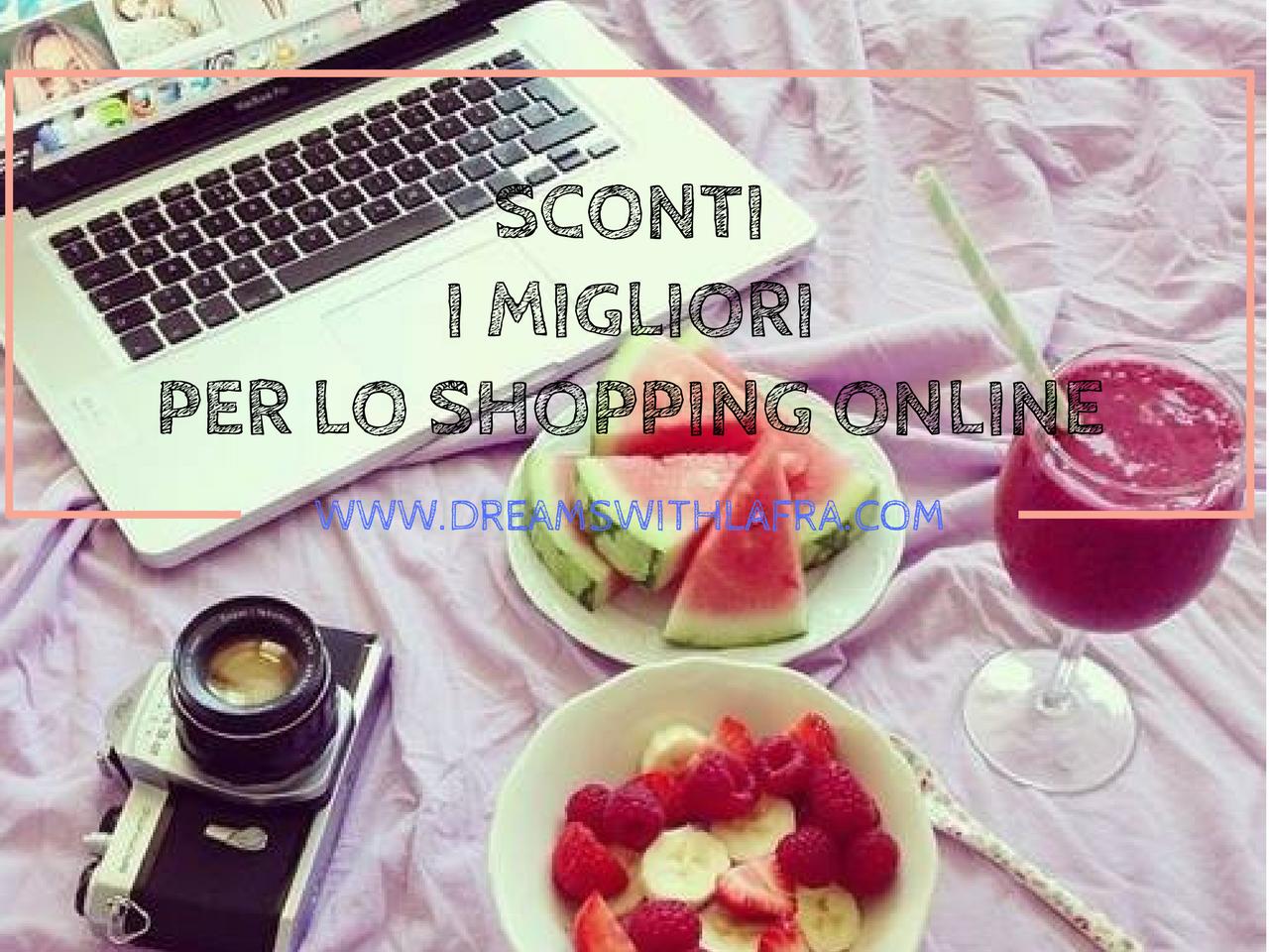 Sconti, dove trovare i migliori per il proprio shopping online
