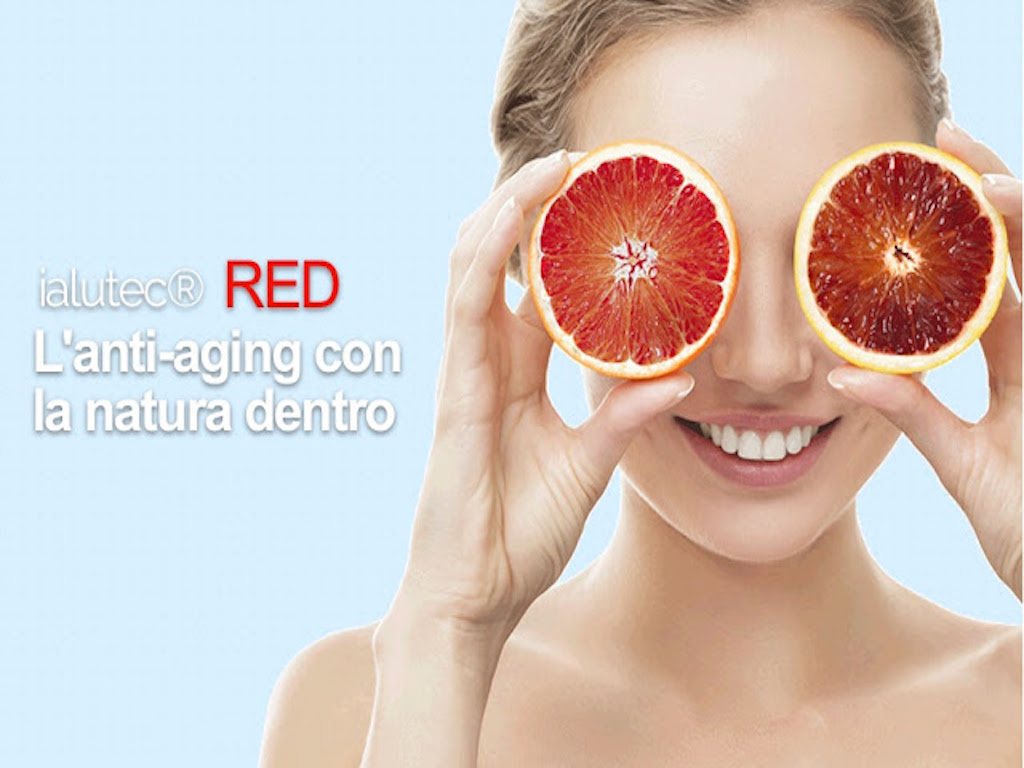 Eyepharma Ialutec Red anti-aging con la natura dentro