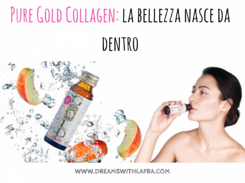 Pure Gold Collagen: la bellezza nasce da dentro. Elasticità da bere