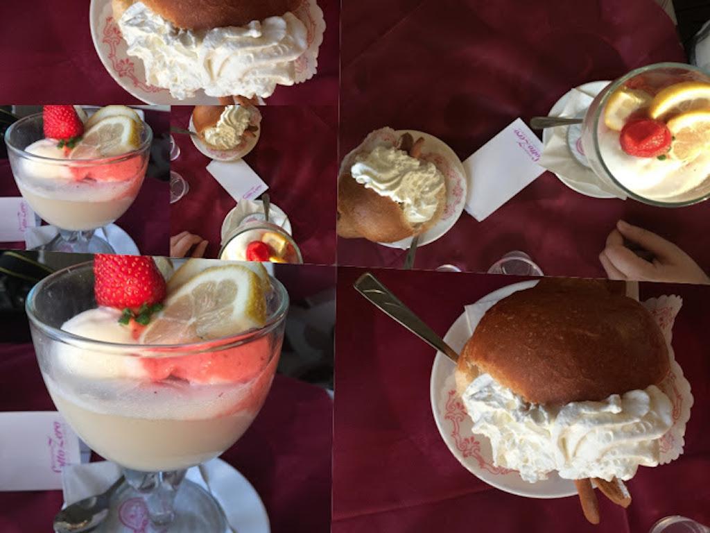 coppa gelato vip e brioche farcita con gelato