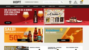 Hopt: vendita di birre artigianali online