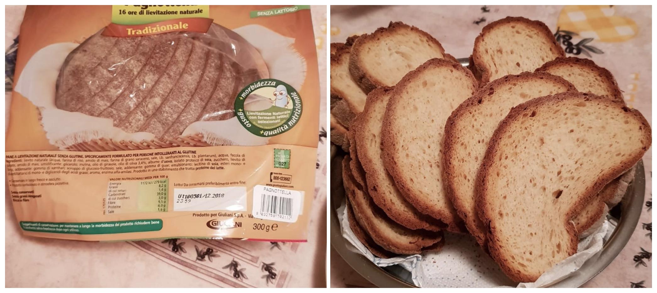 Intolleranza al glutine cosa mangiare - Pagnotta tradizionale Giusto® Giuliani