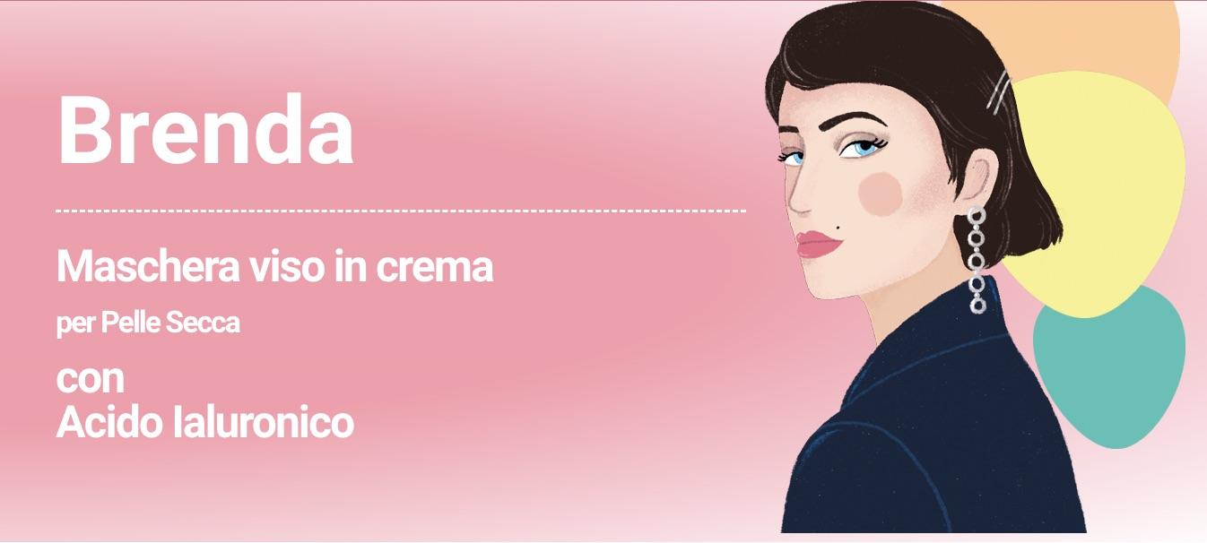 Brenda: la maschera viso in crema per pelli secche
