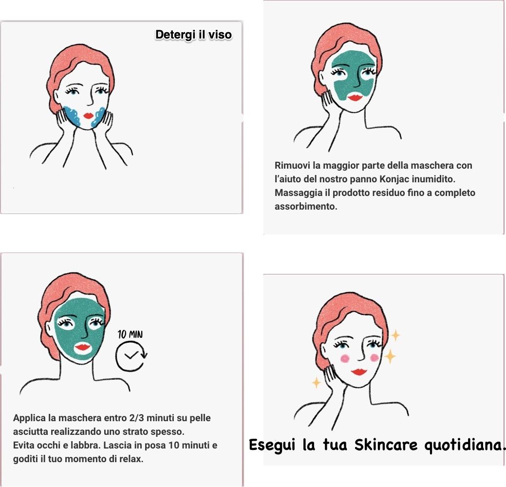 maschera miranda Modo d'Uso Maschera in Crema